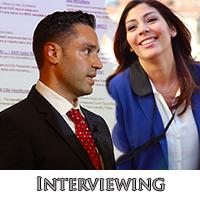 """job seekers interviewing"""